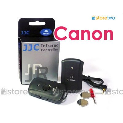 JJC 3 in 1 Wireless Remote Shutter Control for Canon EOS Camera