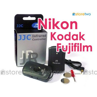 JJC 3 in 1 Wireless Remote Shutter Control for Nikon, Kodak Fujifilm Camera