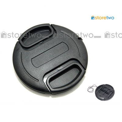 Center Pinch Snap On Front Lens Cap 77mm