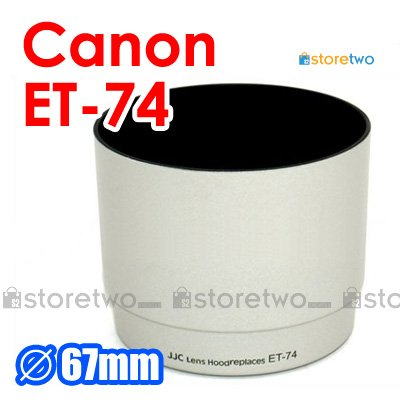 ET-74 White - JJC Lens Hood for Canon EF 70-200mm f/4L IS USM, f/4L USM