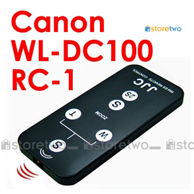 RC-1, WL-DC100 - JJC Compact Infrared Wireless Shutter Remote Control for Canon Camera