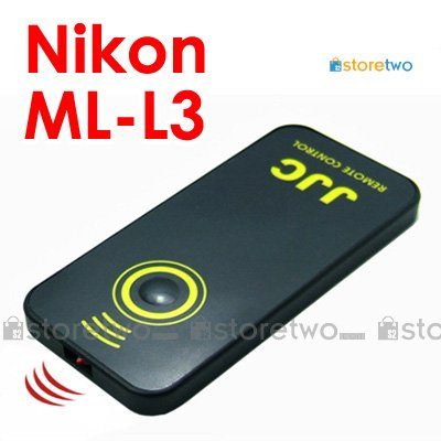 ML-L3 - JJC Compact Infrared Wireless Shutter Remote Control for Nikon Camera