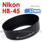 HB-45 - JJC Lens Hood for Nikon AF-S 18-55mm f/3.5-5.6G VR DX NIKKOR