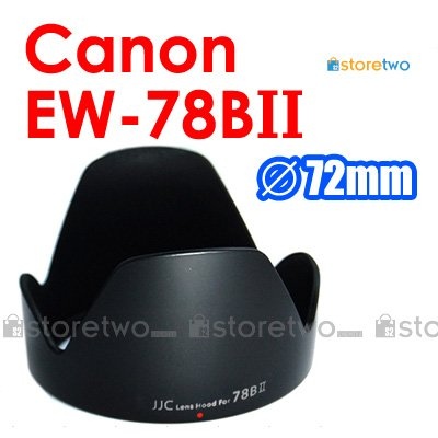 EW-78BII - JJC Lens Hood for Canon EF 28-135mm f/3.5-5.6 IS USM
