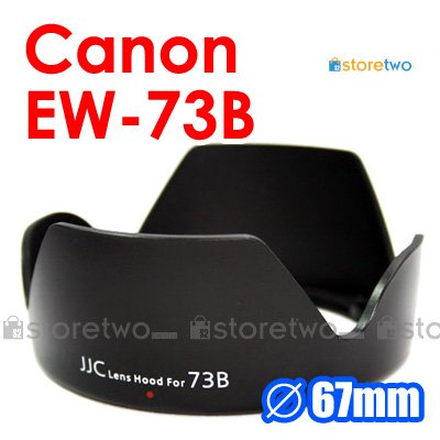 EW-73B - JJC Lens Hood for Canon EF-S 18-135mm f/3.5-5.6 IS STM, EF-S 17-85mm f/4-5.6 IS USM