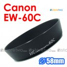 EW-60C - JJC Lens Hood for Canon EF-S 18-55m, 28-80mm, 28-90mm