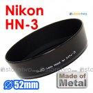 HN-3 - JJC Lens Hood for Nikon Ai Nikkor 35mm f/1.4S, 2D, 2.8, Micro 55mm f/2.8, 3.5, 35-80mm