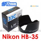 HB-35 - JJC Lens Hood for Nikon AF-S DX VR Zoom-NIKKOR 18-200mm f/3.5-5.6G IF-ED