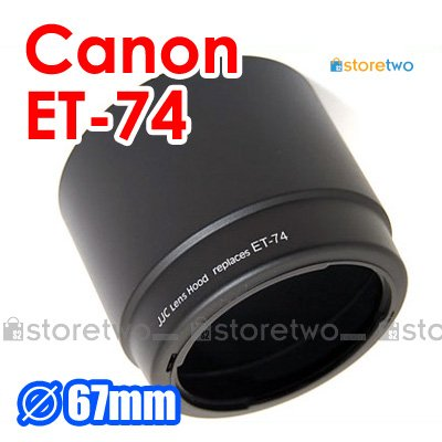 ET-74 - JJC Lens Hood for Canon EF 70-200mm f/4L IS USM, f/4L USM