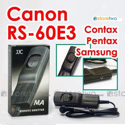 RS-60E3 - JJC Shutter Remote Control for Canon EOS, Pentax, Samsung, Contax Camera