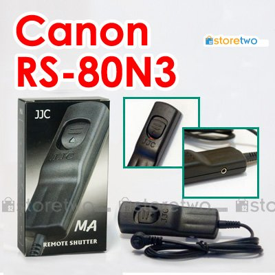 RS-80N3 - JJC Shutter Remote Control for Canon EOS Camera