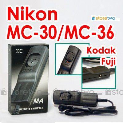 MC-30/MC-36 - JJC Shutter Remote Control for Nikon, Kodak and Fuji Camera
