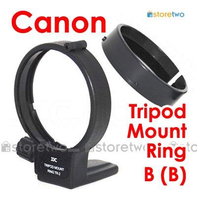 JJC Tripod Mount Ring B (B) for Canon EF 100mm f/2.8 Macro, 180mm f/3.5L Macro, MP-E 65mm f/2.8 1-5X