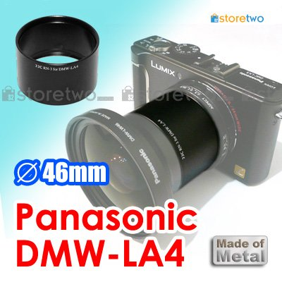 DMW-LA4 - JJC Conversion Lens Adapter for Panasonic Digital Camera LX3 Leica D-LUX 4