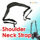 STP-SB2AM - JJC Neoprene Camera Shoulder Neck Strap with Webbing and Quick Release Tabs