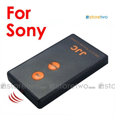 JJC Compact Infrared Wireless Shutter Remote Control for Sony Alpha Camera