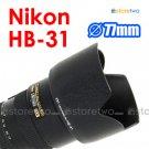 HB-31 - JJC Lens Hood for Nikon AF-S DX Zoom-Nikkor 17-55mm f/2.8G IF-ED