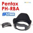PH-RBA 52mm - JJC Lens Hood for Pentax smc DA 18-55mm f/3.5-5.6 AL II
