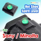 JJC Hot Shoe Cap with Bubble Spirit Level for Sony Konica Minolta