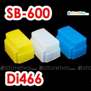 Pack of 3 Flash Bounce Diffuser Cap for Nikon Speedlight SB-600, Nissin, Olumpus, Panasonic, Sunpak