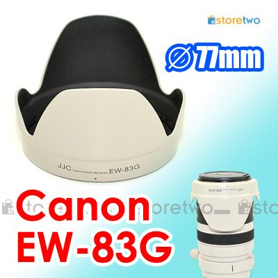 EW-83G White - JJC Lens Hood for Canon EF 28-300mm f/3.5-5.6L IS USM