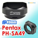 PH-SA49 49mm - JJC Lens Hood for Pentax smc DA 35mm f/2.4 AL FA 50mm f/1.4 f/1.7 A 50mm f/2