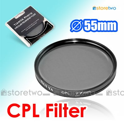 Tianya Circular Polarizer CPL Filter 55mm