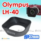 LH-40 - JJC Lens Hood for Olympus M.ZUIKO DIGITAL ED 14-42mm f/3.5-5.6 II R