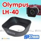 LH-40 - JJC Lens Hood for Olympus M.ZUIKO DIGITAL ED 14-42mm f/3.5-5.6 II R