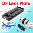 Kiwifotos 100mm Quick Release Lens Plate Arca Swiss NIB