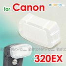 Flash Bounce Diffuser Cap for Canon Speedlite 320EX