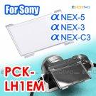 LCD Cover PCK-LH1EM - JJC LCD Cover for Sony Alpha NEX-5, NEX-3, NEX5, NEX3, NEX-C3