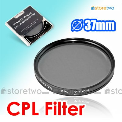 Tianya Circular Polarizer CPL Filter 37mm