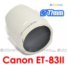 ET-83II White - JJC Lens Hood for Canon EF 70-200mm f/2.8L USM 77mm