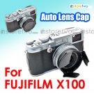 JJC Lens Hood Cap for FUJIFILM FinePix X100 Auto Open (ALC-X100)