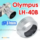 LH-40B - JJC Silver Lens Hood for Olympus M.ZUIKO DIGITAL ED 45mm f/1.8 37mm