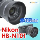 HB-N101 - JJC Lens Hood for Nikon 1 Nikkor VR 10-30mm f/3.5-5.6 V1 J2 J1 40.5mm