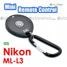 ML-L3 - JJC Mini Infrared Wireless Shutter Remote Control for Nikon Camera Coolpix A