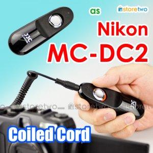 MC-DC2 - JJC Shutter Remote Control Coiled Cord 90cm for Nikon Camera