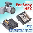 Flash Hotshoe Adapter for Sony NEX Smart Accessory Terminal fits Light Trigger System