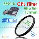 JYC Ultra Thin PRO1-D Circular Polarizer CPL Filter 77mm