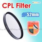 Green.L Circular Polarizer CPL Filter 52mm