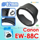 EW-88C - JJC Lens Hood for Canon EF 24-70mm f/2.8L II USM 82mm Filter Thread