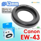 EW-43 - JJC Metal Lens Hood for Canon EF-M 22mm f/2.0 STM