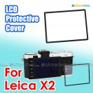 JJC LCD Screen Protective Sheet Cover for Leica X2