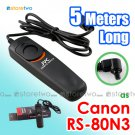 RS-80N3 - JYC 5 Meters Shutter Remote Control for Canon EOS Camera