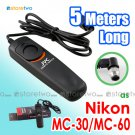 MC-30/MC-36 - JYC 5 Meters Shutter Remote Control for Nikon, Kodak and Fuji Camera