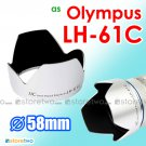 Silver LH-61C - JJC Lens Hood for Olympus Zuiko Digitral ED 14-42mm M.Zuiko 14-150mm
