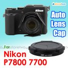JJC Self-retaining Auto Lens Cap for Nikon Coolpix P7800 P7700 Black (ALC-P7800)