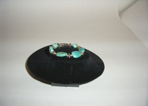 Sterling Silver Turquoise Bracelet 31-0005